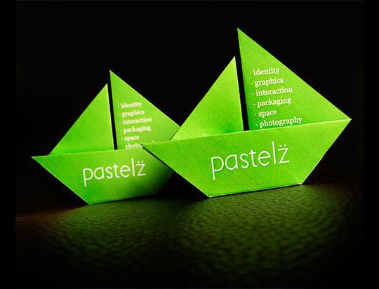 14 Amazing Folding Business Cards 2