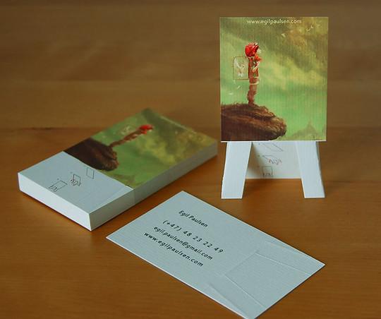 14 Amazing Folding Business Cards 6