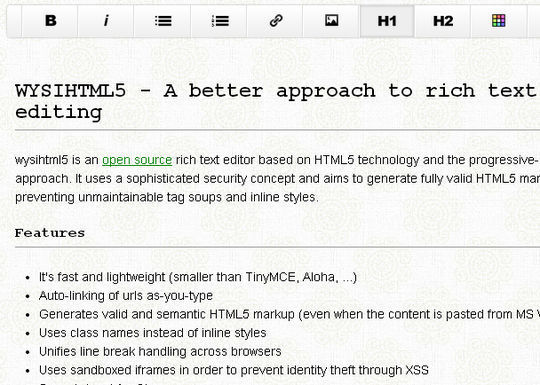 10 HTML5 Tools For Speed Up Development 12
