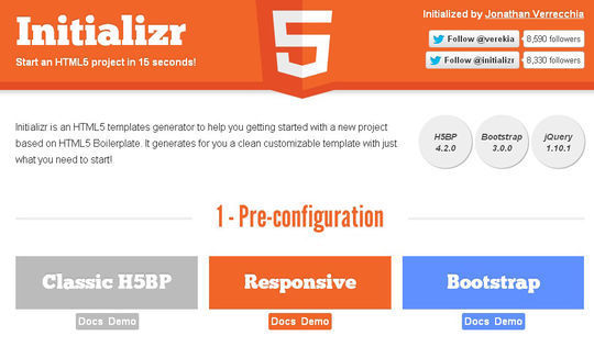 10 HTML5 Tools For Speed Up Development 131