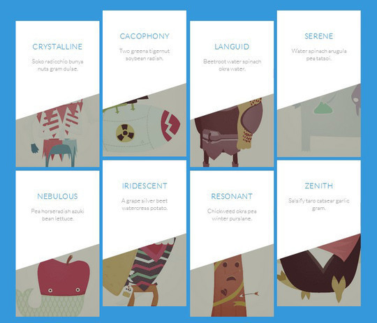 A Wonderful Collection Of Free jQuery & CSS3 Image Hover Effects 11
