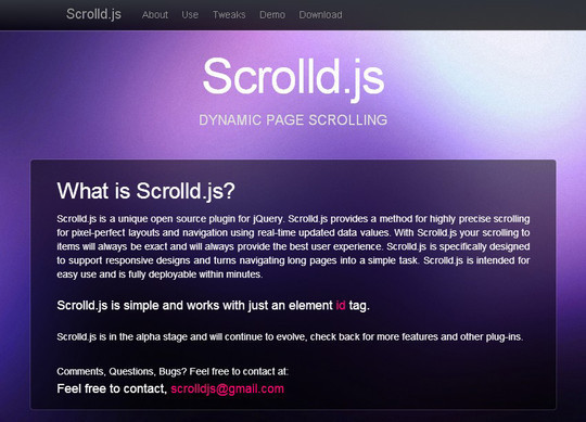 A Cool Collection Of jQuery Plugins To Make Your Website More User Friendly 11