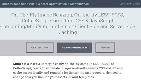 Useful PHP Classes & Libraries For Fast Development 4