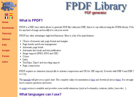 Useful PHP Classes & Libraries For Fast Development 22