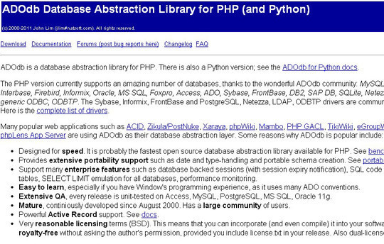 Useful PHP Classes & Libraries For Fast Development 23
