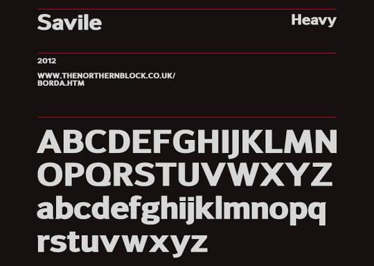 15 Free Superb Sans-Serif Fonts For Designers 5