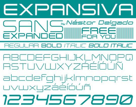 15 Free Superb Sans-Serif Fonts For Designers 13