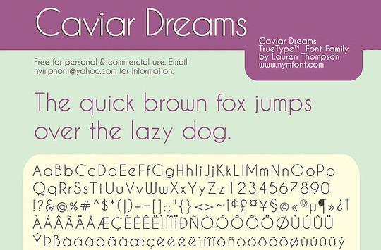 15 Free Superb Sans-Serif Fonts For Designers 7