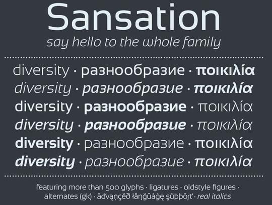 15 Free Superb Sans-Serif Fonts For Designers 10