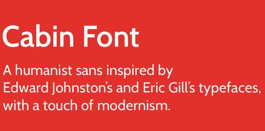 15 Free Superb Sans-Serif Fonts For Designers 11