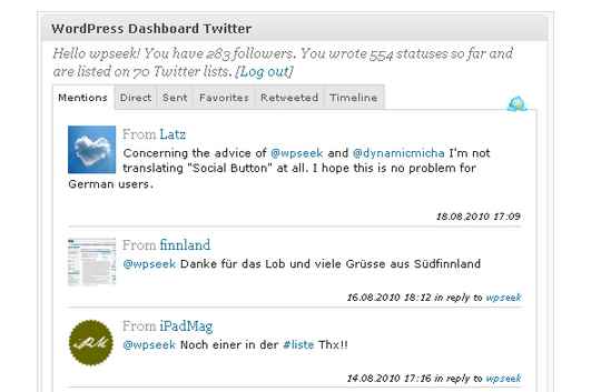 13 Most Useful Twitter Plugins For WordPress 10