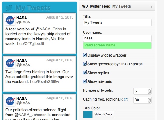 13 Most Useful Twitter Plugins For WordPress 2