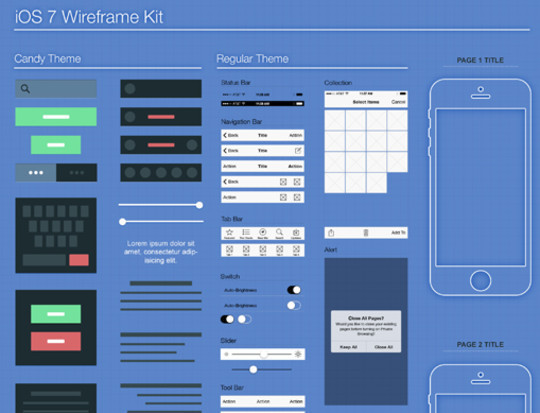 14 UI Wireframe Stencils For Quick Prototyping 10