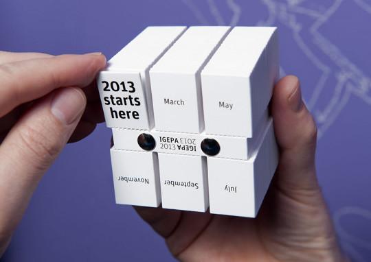 14 Creative Calendar Design Ideas 4