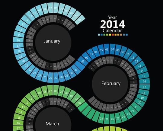 14 Creative Calendar Design Ideas 14