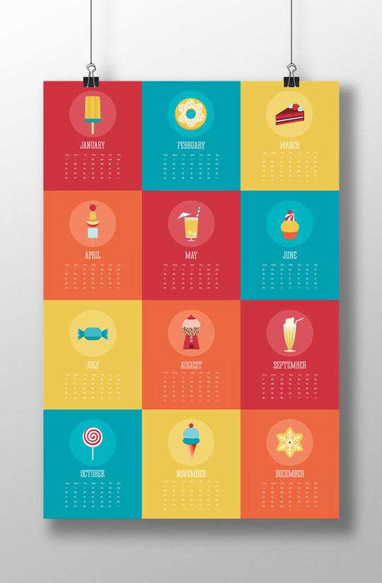 14 Creative Calendar Design Ideas 8