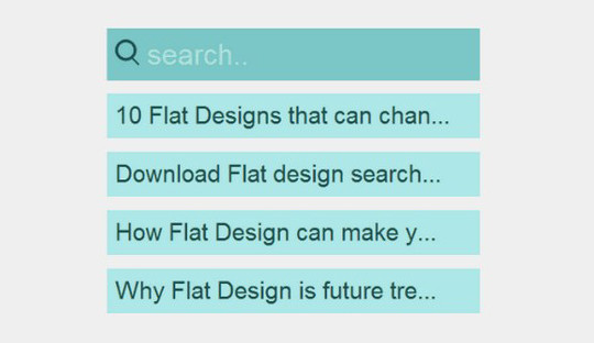 13 Really Useful HTML5, CSS3 & jQuery Search Form Tutorials 3