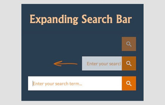 13 Really Useful HTML5, CSS3 & jQuery Search Form Tutorials 117