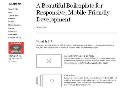10 CSS Frameworks for Web Developers 6