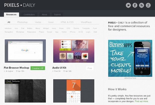 9 Superb Places To Find Fresh Free Design Resources 4