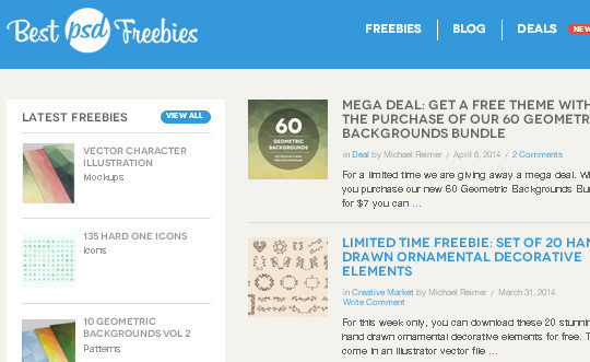 9 Superb Places To Find Fresh Free Design Resources 6