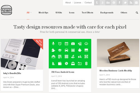 9 Superb Places To Find Fresh Free Design Resources 7