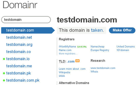 15 Tools For Selecting An Ideal Domain Name 1