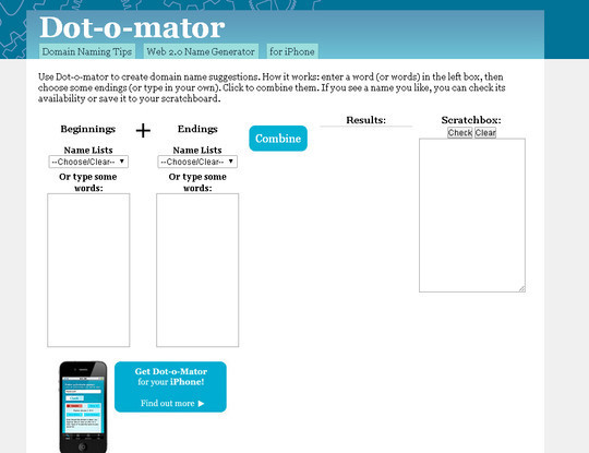 15 Tools For Selecting An Ideal Domain Name 10