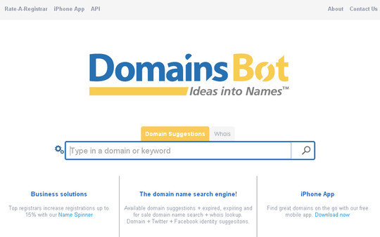 15 Tools For Selecting An Ideal Domain Name 11
