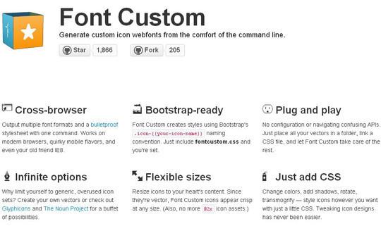 Free Custom Icon Font Generators for Designers 5