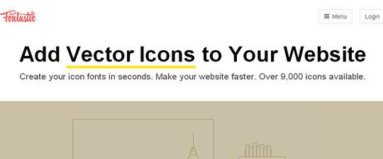 Free Custom Icon Font Generators for Designers 7