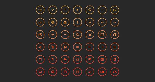 20 Fresh and Beautiful Icon Sets for Free 5