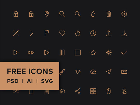 20 Fresh and Beautiful Icon Sets for Free 14