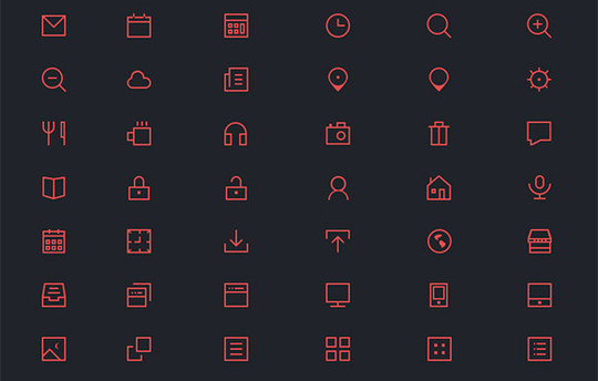 20 Fresh and Beautiful Icon Sets for Free 15