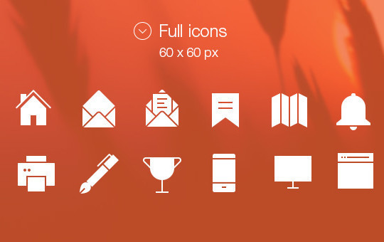 20 Fresh and Beautiful Icon Sets for Free 16