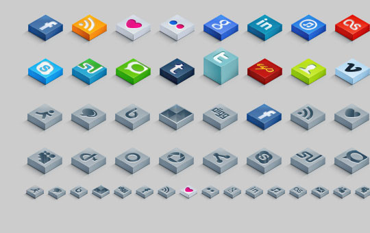 20 Fresh and Beautiful Icon Sets for Free 10