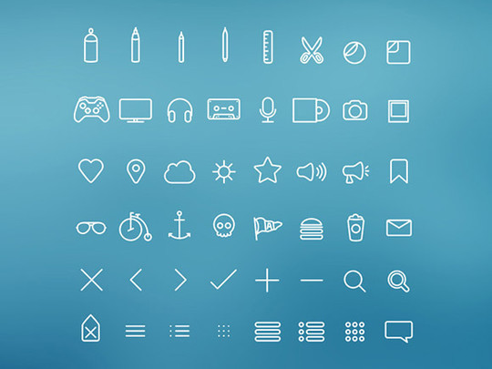 20 Fresh and Beautiful Icon Sets for Free 18