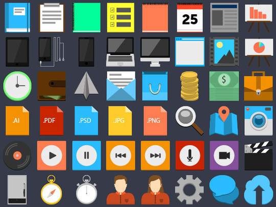 20 Fresh and Beautiful Icon Sets for Free 19