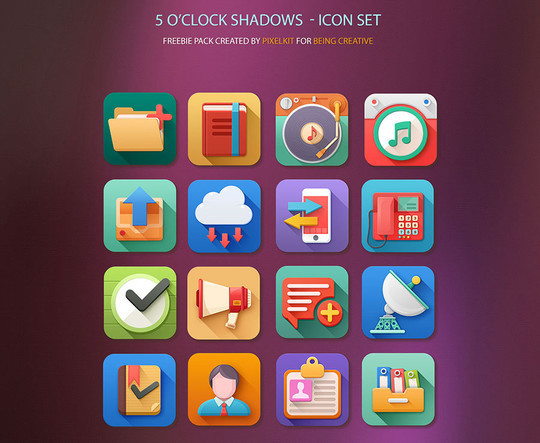 20 Fresh and Beautiful Icon Sets for Free 7
