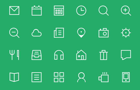 20 Fresh and Beautiful Icon Sets for Free 11