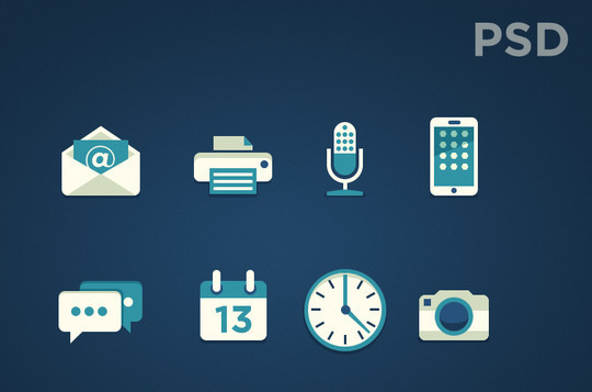 20 Fresh and Beautiful Icon Sets for Free 12