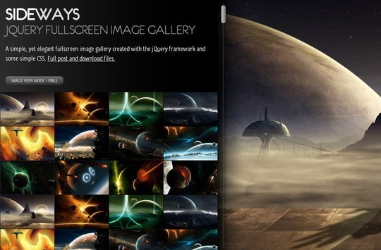 10 Stylish Free Full Screen jQuery Slideshow 22