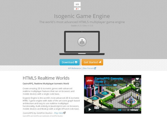 Collection of Javascript & HTML5 Game Engines Libraries 15