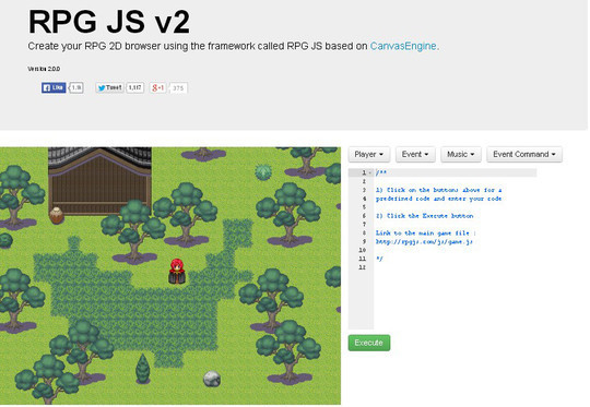 Collection of Javascript & HTML5 Game Engines Libraries 23