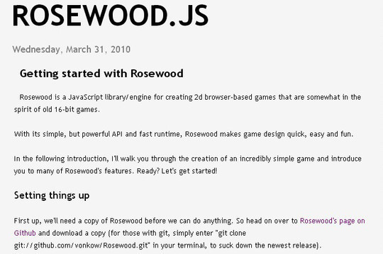 Collection of Javascript & HTML5 Game Engines Libraries 24