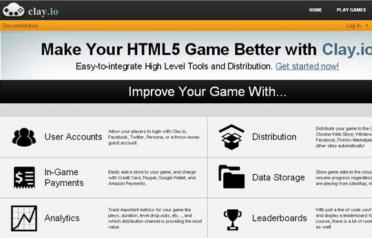 Collection of Javascript & HTML5 Game Engines Libraries 27