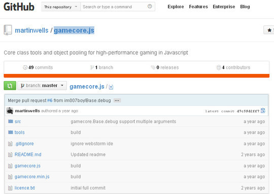 Collection of Javascript & HTML5 Game Engines Libraries 29
