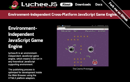 Collection of Javascript & HTML5 Game Engines Libraries 7