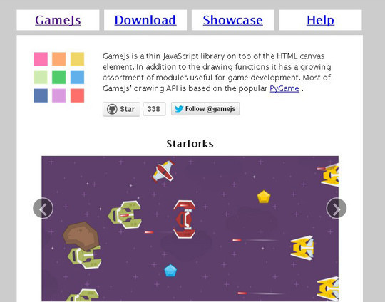 Collection of Javascript & HTML5 Game Engines Libraries 4