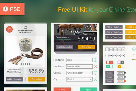 45 Free Design Resources: HTML5, CSS, UI Kits And PSDs 12